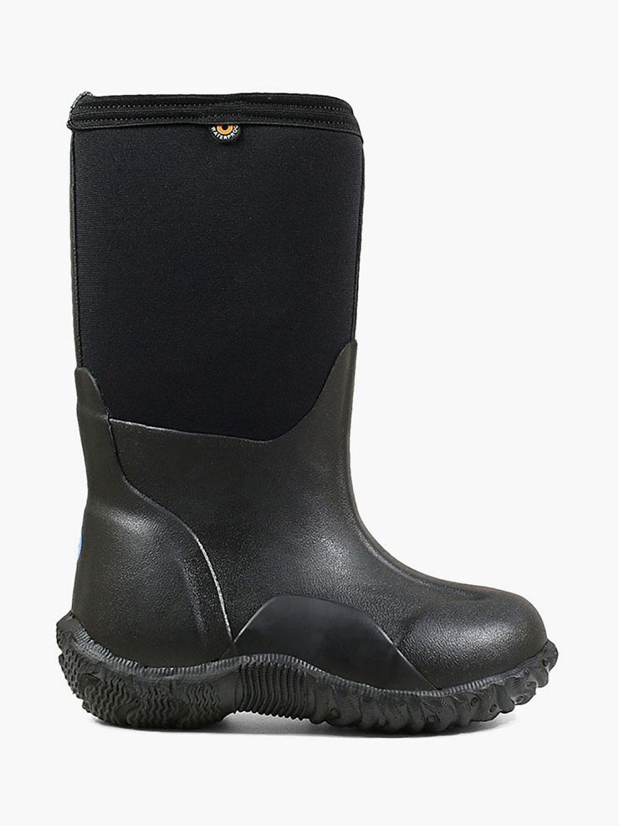 Classic Black Kids' Winter Boots
