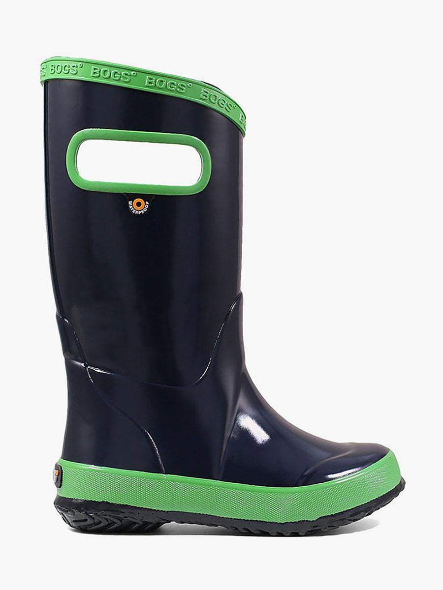 new concept so cheap hot products Rainboot Navy Kids' Lightweight Waterproof Boots - 71326