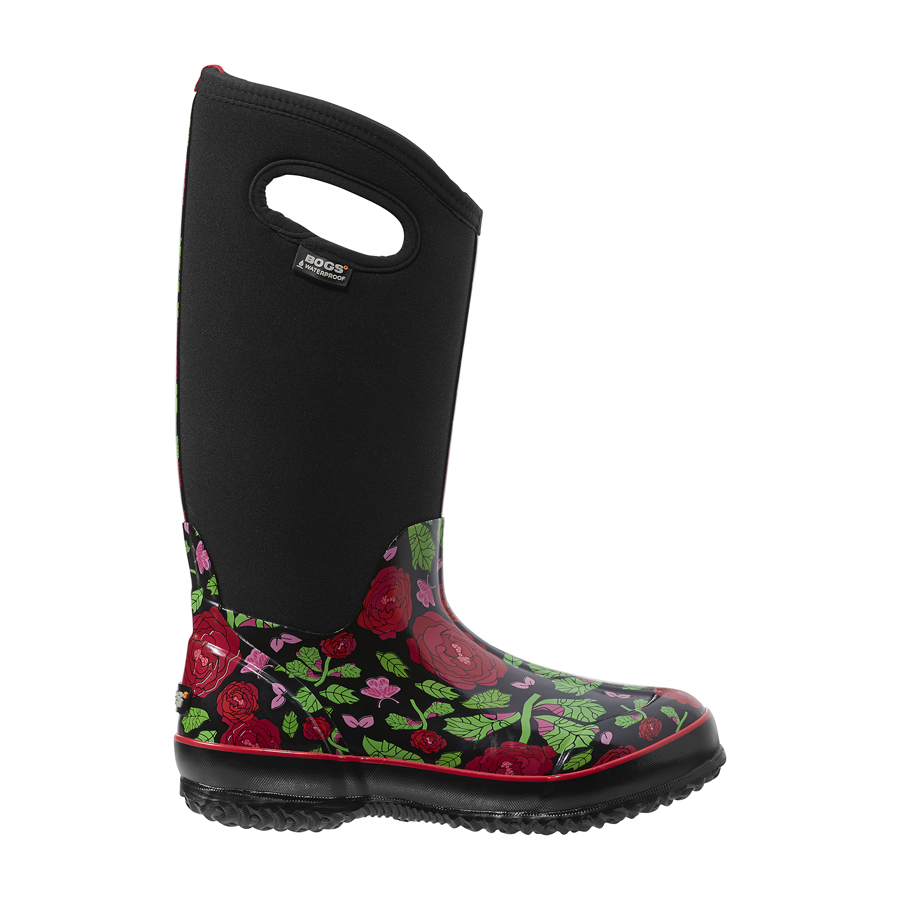 Classic Rose Garden Tall Women S Insulated Boots 71789