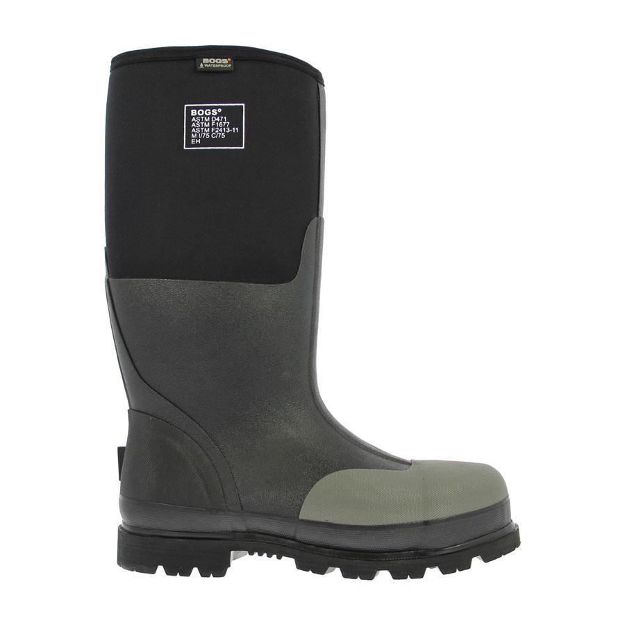 Black Work Boots For Men Coltford Boots