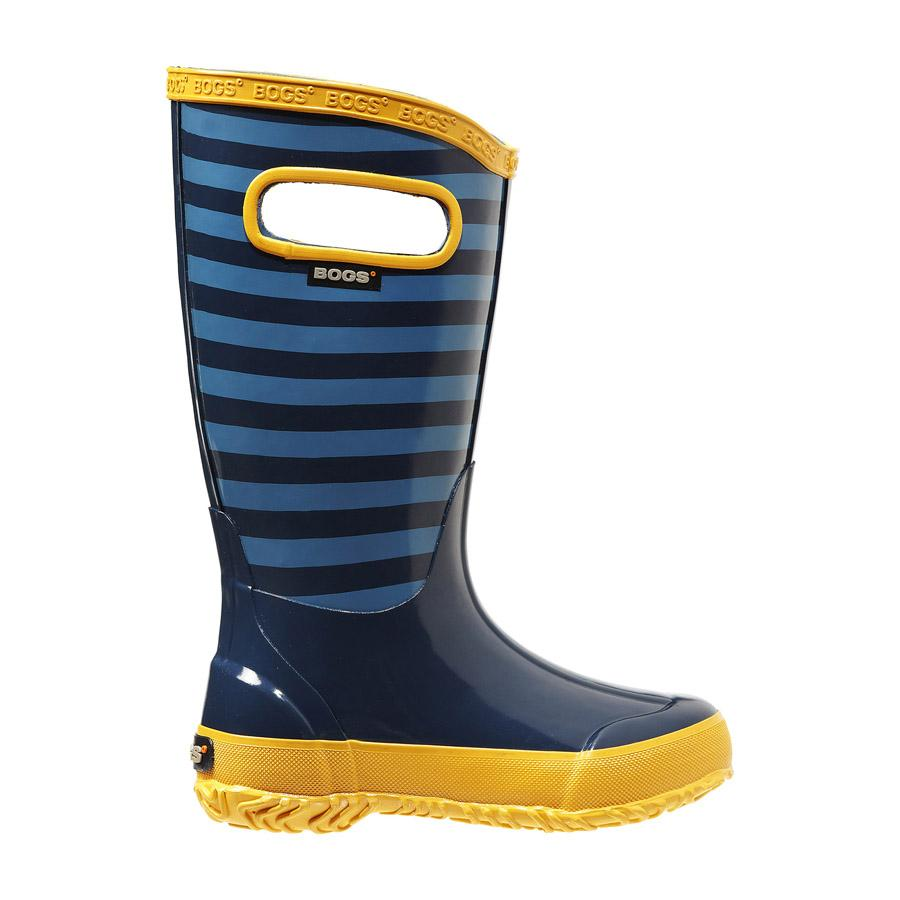 Rain Boots Stripes Kids' Lightweight Waterproof Boots - 71547