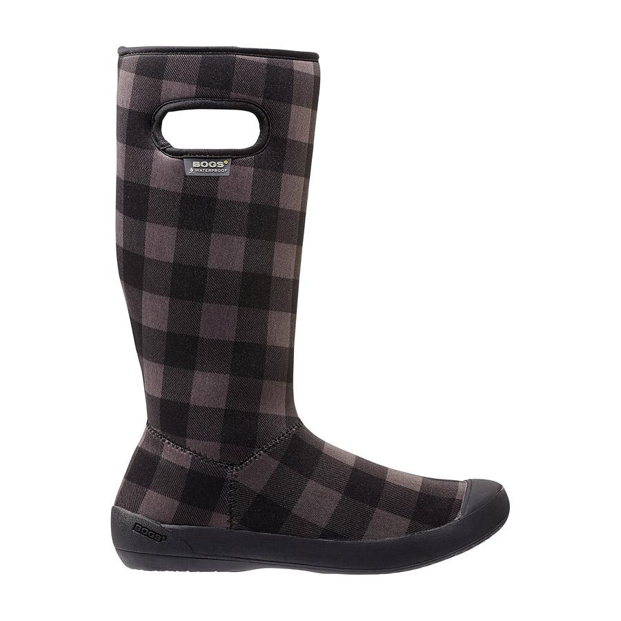 Summit Buffalo Plaid Women's Waterproof Boots - 71617