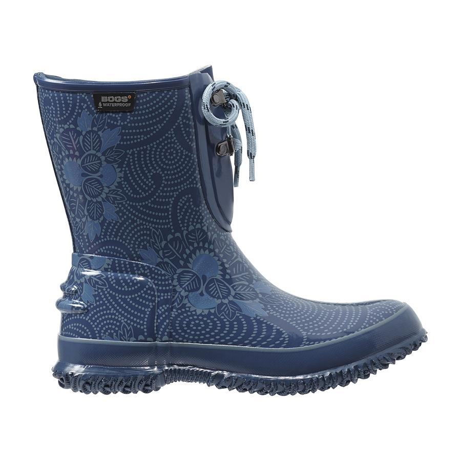 Urban Farmer 2 Eye Lace Batik Women S Rubber Boots 71710