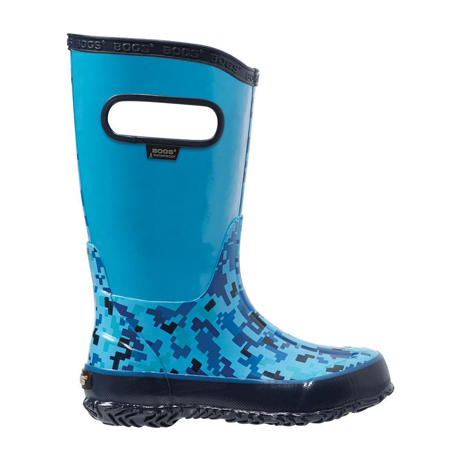 Rain Boots Digital Camo Kids' Lightweight Waterproof Boots - 71741