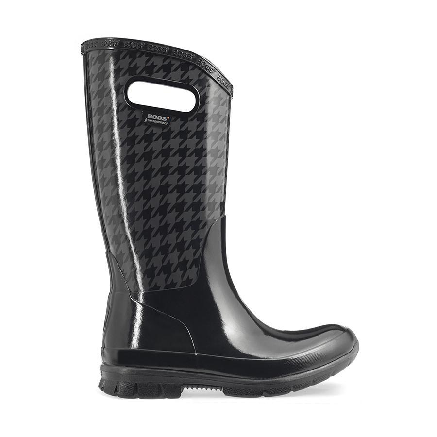 Berkeley Houndstooth Women's Lightweight Rain boots - 72044