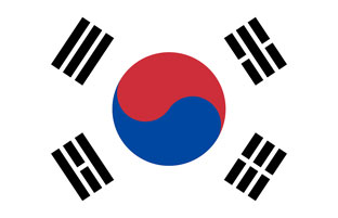 Korean flag.