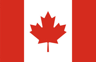 Canadian flag.