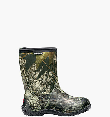 Classic Mossy Oak Mid Kids' Insulated Boots