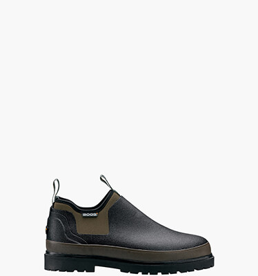 Tillamook Bay Men's Waterproof Slip On in Black for $110.00