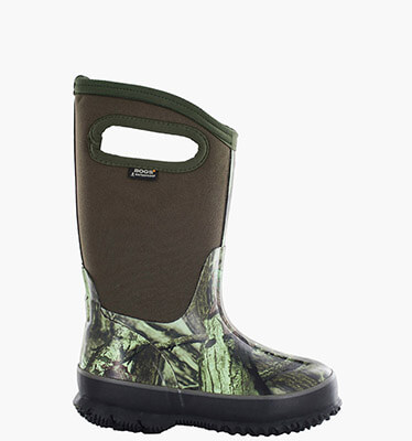 Classic Big Kids' Size 7 Big Kids' Insulated Boots in Mossy Oak for $80.00