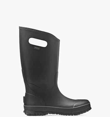 Rainboot Men's Waterproof Boots in Black for $85.00