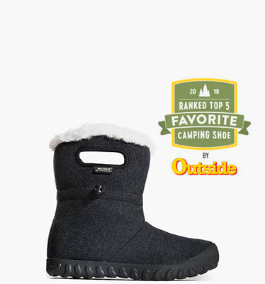 B-Moc Wool Women's Insulated Boots in Black for $94.90