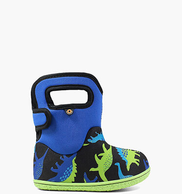 Baby Bogs Dino Baby Bogs Waterproof Boots in Indigo Multi for $55.00