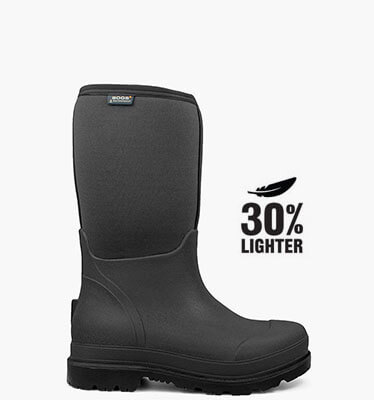 Stockman Men's Insulated Work Boots in Black for $114.90