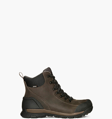 Foundation Leather Mid  Men's Waterproof Work Boots in Brown for $160.00