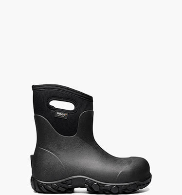 Workman Mid Soft Toe Men's Waterproof Work Boots in Black for $140.00
