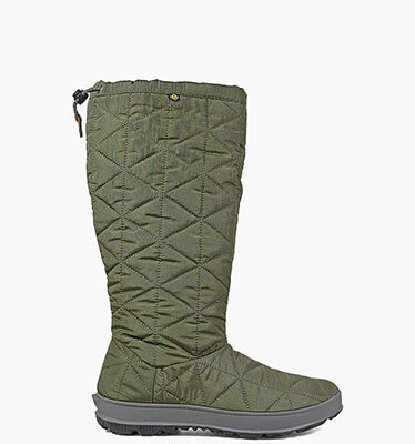 Snowday Tall Women's Waterproof Winter Boots in Dark Green for $79.90
