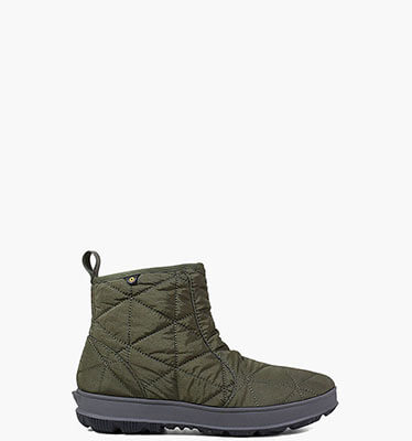 Snowday Low Women's Waterproof Winter Boots in Dark Green for $64.90
