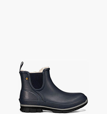 Amanda Plush Slip On Women's Insulated Boots in Dark Blue for $90.00