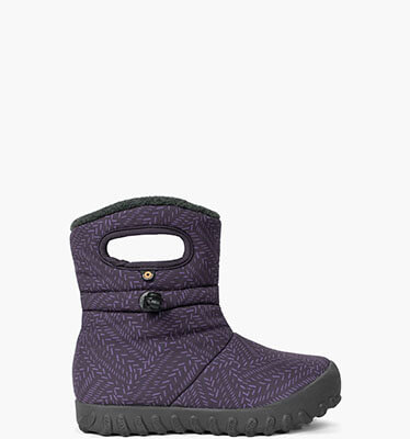 B-Moc Fleck Youth Insulated Boots in Black Multi for $49.90