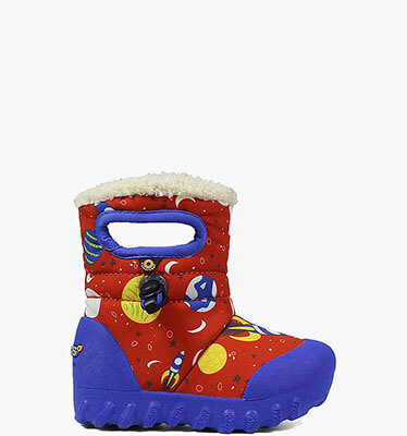 B-Moc Space Kid's Insulated Boots in Black Multi for $49.90