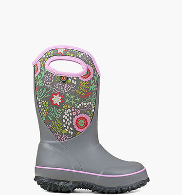 Slushie Reef Kid's Insulated Boots in Gray Multi for $49.90