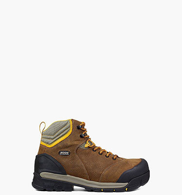 "Bedrock 6"" Comp Toe Men's Waterproof Work Boots in Brown Multi for $155.00"