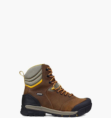"Bedrock 8"" Soft Toe Men's Waterproof Work Boots in Brown Multi for $170.00"