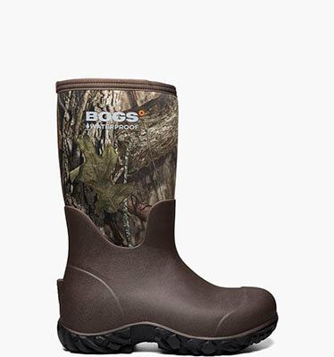 Warner Men's Waterproof Hunting Boots in Mossy Oak for $160.00