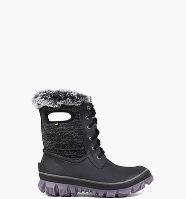 Arcata Knit  in Black and Violet for $119.90