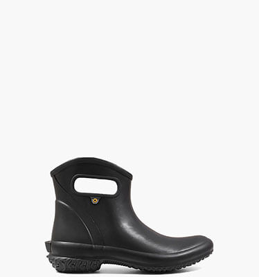 Patch Ankle Boot Solid