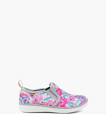 Kicker Slip On Pansies  in Indigo Multi for $45.00