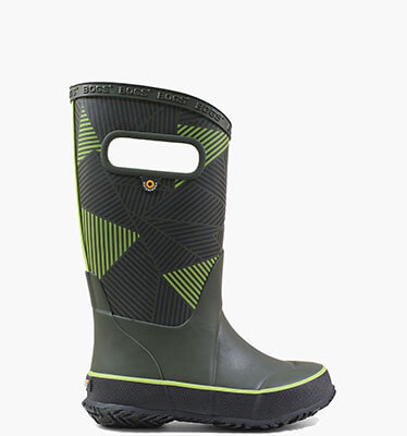 Rainboot Big Geo  in Black Multi for $40.00