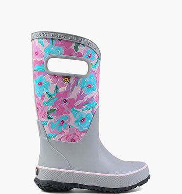Rainboot Pansies  in Turq Multi for $40.00