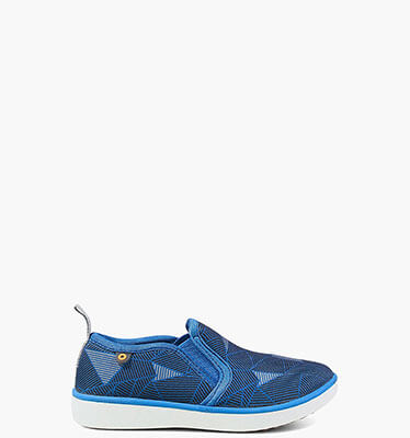 Kicker Slip On Little Geo  in Royal Blue Multi for $45.00