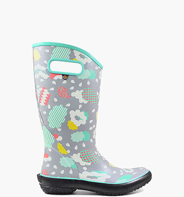 Rainboot Clouds  in Gray Multi for $65.00