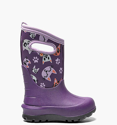 Neo-Classic Kitties  in Purple Multi for $90.00