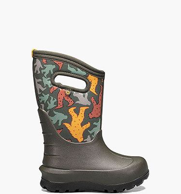 Shop the Kids' Neo-Classic Snow Boot.  The featured product is the Kids' Neo-Classic Big Geo in black multi.