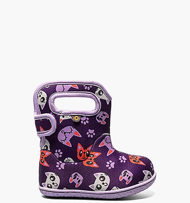 Baby Bogs Kitty  in Purple Multi for $55.00